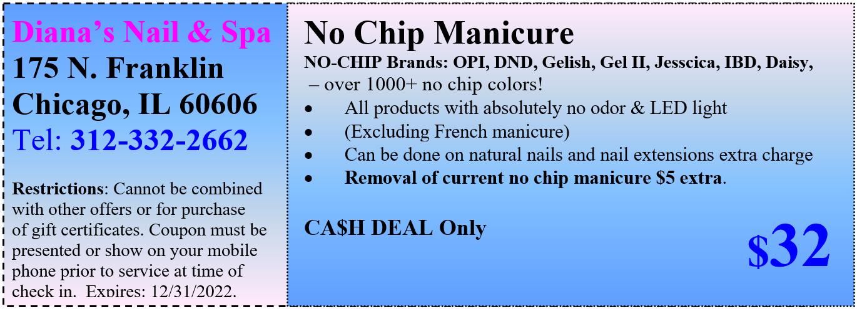 No Chip Manicure